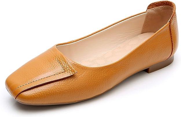 60s Shoes, Go Go Boots   1960s Shoes VenusCelia Womens Plain Dance Flat Shoe  AT vintagedancer.com