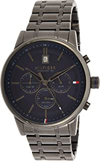 Tommy Hilfiger Mens Quartz Wrist Watch, Chronograph and Stainless Steel- 1791633