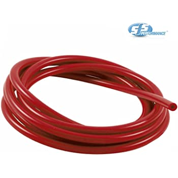 AutoSiliconeHoses 25mm ID Red 2 Metre Length Silicone Vacuum Hose
