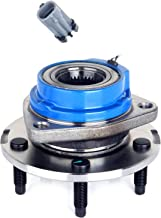 ECCPP Wheel Hub and Bearing Assembly Front 513179 fit Replacement for 2001-2005 Buick Pontiac Chevy 5 Lugs Wheel Bearing Hubs with ABS 1 pcs