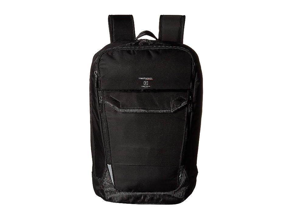 Hedgren Hookup Backpack 15 (Black) Backpack Bags