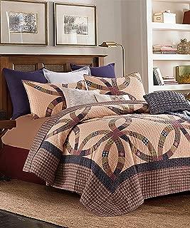 Duke Imports 3-Piece Primitive Quilt Set, King