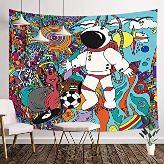 Best trippy wolf tapestry Reviews