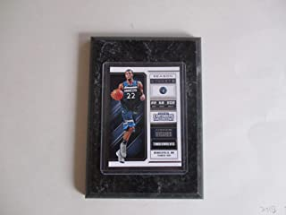 ANDREW WIGGINS MINNEAPOLIS TIMBERWOLVES PANINI CONTENDERS NBA 2018 (BLUE JERSEY) PLAYER CARD MOUNTED ON A 4