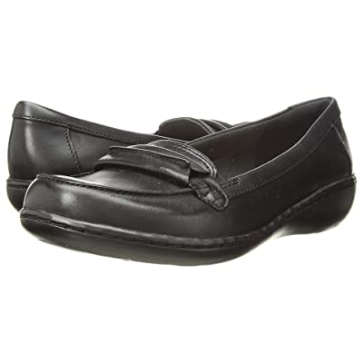 Clarks Ashland Lily (Black Leather) Women