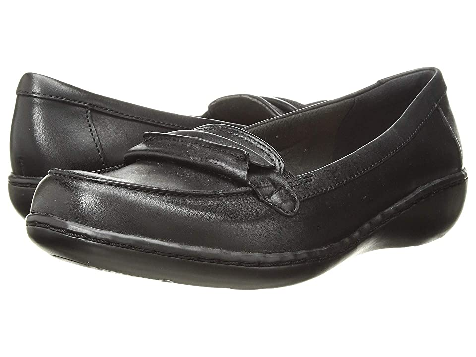 Clarks Ashland Lily (Black Leather) Women
