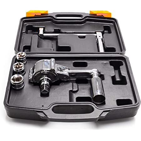 1//2 DR XtremepowerUS Torque Wrench Multiplier Lug Nut Labor Saving Wrench Remover Set w//Carrying Case