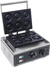 Futchoy Appareil à Cupcake 1550W Machine à Beignet Commerciale Machine à Donut en Acier Inoxydable