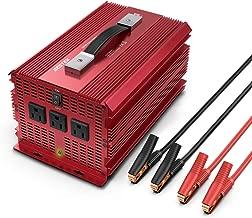 BESTEK 2000W Power Inverter 3 AC Outlets DC 12V to 110V AC Car Power Converter for..