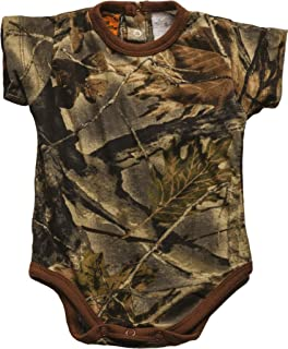 Trail Crest Infant Camo Undershirt- Short Sleeve Bodysuit
