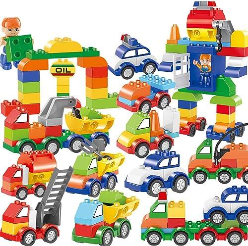Yanxia Stadtpolizei-Bausteine  er Kinder 106pcs, die Modell 3 6 9 12 Jahre Alten Jungen und mädchen intellektuelles Entwicklungsspielzeug zusammenbauen