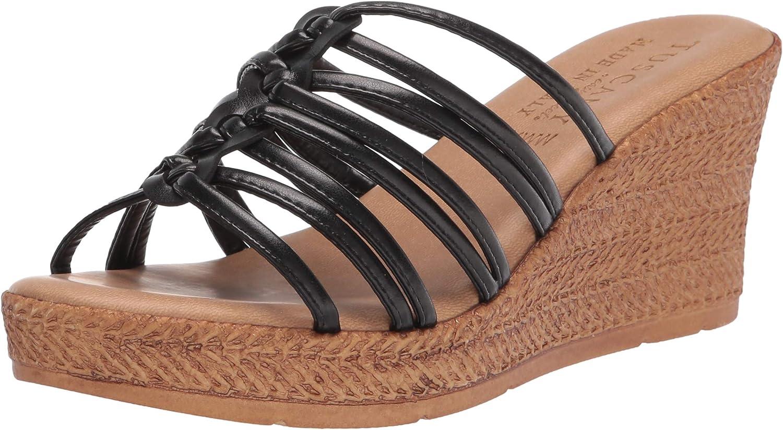 Tuscany Women's Sandal Wedge 引き出物 無料