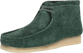 Wallabee Boot Forest Green Hairy Suede 13