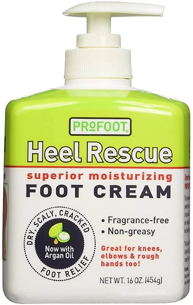 ProFoot Heel Rescue Superior Moisturizing Foot Cream 16 oz (Pack of 4)