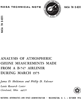 Analysis of atmospheric ozone measurements made from a B-747 airliner during March 1975 (English Edition)