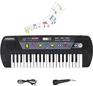 M SANMERSEN 37 Keys Piano Keyboard, Portable Kids Piano with
