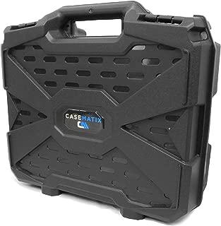 Casematix Video Projector Hard Case with Dense Foam Compatible with Epson VS240 , VS345 , VS340 , EX3260 , EX7260 , EX3240 , EX3220 , EX7240 , EX7235 , EX7230 3lcd, Xga, Svga and 3d Projectors