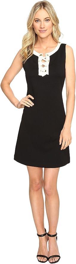 Mini Quilted Jersey Dress KS1K7911