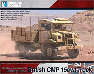 Rubicon Models British CMP 15cwt Truck (1:56th scale / 28mm)