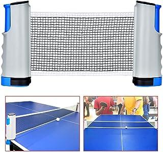Isuper Deporte 1 Fije el Vector port/átil Red de Tenis reemplazo Duradero de Ping-Pong y netas Mensajes Mesa de Ping Pong Suministros
