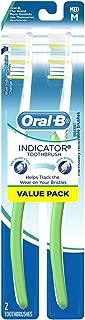 Oral-B Indicator Contour Clean Medium Bristle Toothbrush