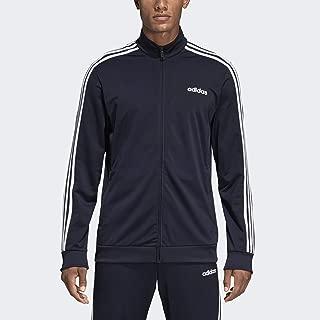 adidas Essentials Men's 3-Stripes Tricot Track Jacket