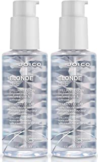 Joico Blonde Life Brilliant Glow Brightening Oil, 3.4-Ounce, 2 Count