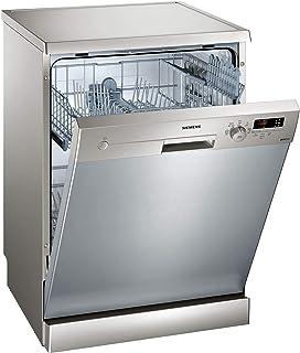 Siemens iQ100 SN215I01AE lavavajilla Independiente 12 cubiertos A++ - Lavavajillas (Independiente, Tamaño completo (60 cm), Cromo, Acero inoxidable, Botones, Giratorio, 1,75 m)