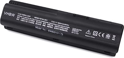 vhbw Akku passend f r HP Pavilion G-Serie G50-100 G60-230US G70-100 HP HDX16 Laptop Notebook Li-Ion 8800mAh 10 8V 95 04Wh schwarz Schätzpreis : 26,67 €