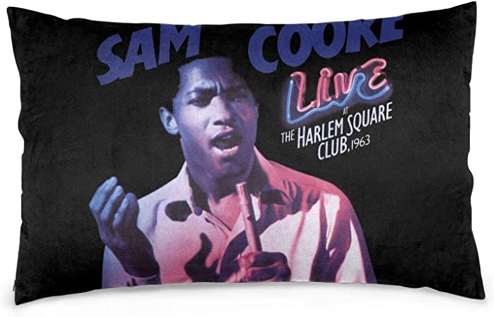 Amazon Com Sam Cooke Pillow Case Fun Cushion Covers Pillowcase Home Decor For Sofa Bed 20 X30 Home Kitchen