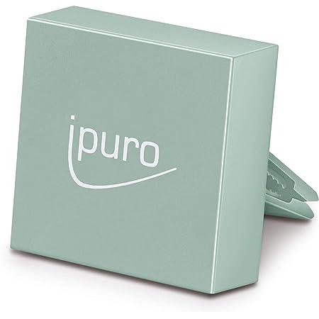 Ipuro Autoduft Car Clip Mint Green Hochwertiger Duftspender Für Ihr Auto Einfache Montage Am Lüftungsgitter Automatische Verteilung Durch Die Lüftung Drogerie Körperpflege