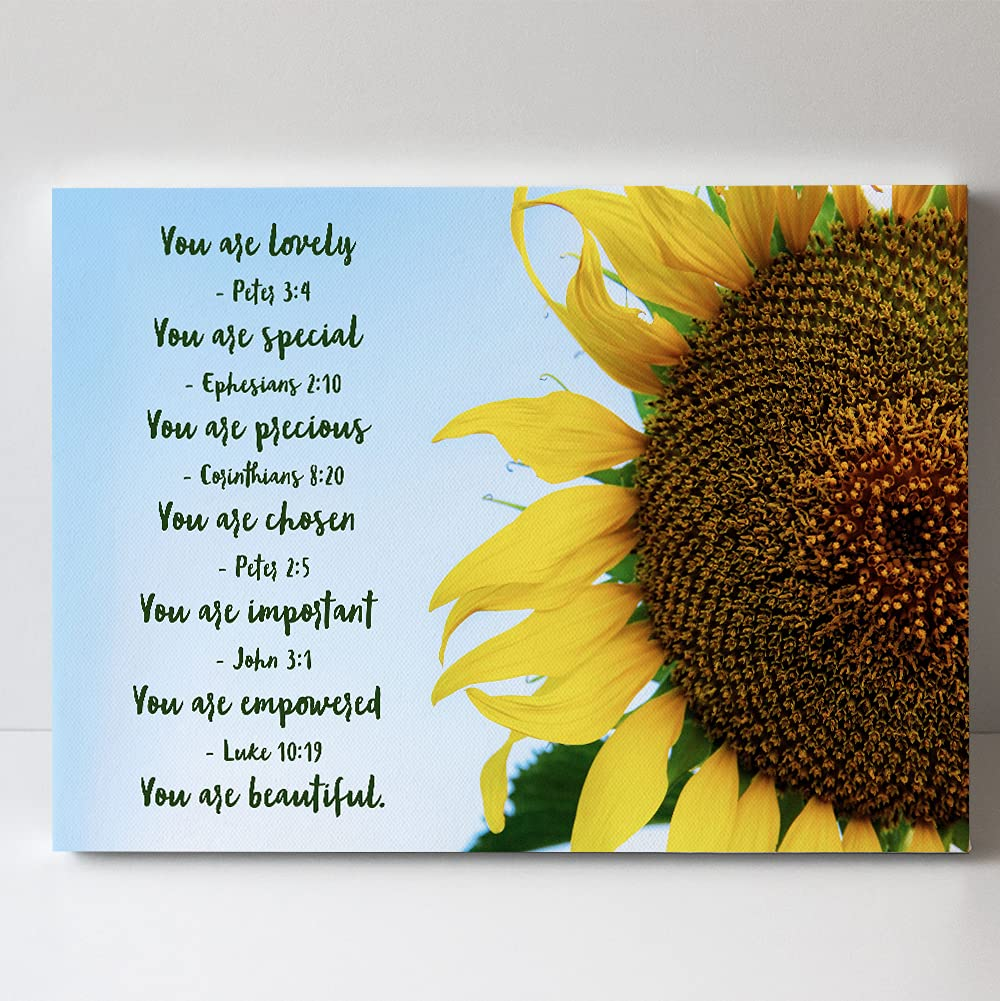 High order Peter 3:4 Bible Verses Art - Special Lovely shipfree You Are Canv