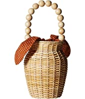 Loeffler Randall - Wicker Bucket Tote