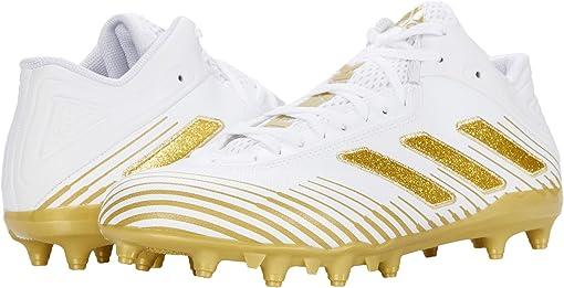 Footwear White/Gold Metallic/Footwear White