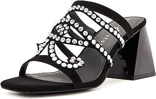 Katy Perry Women's The Layla Heeled Sandal, Black, 10