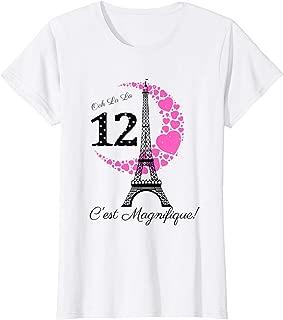 paris birthday shirt ideas