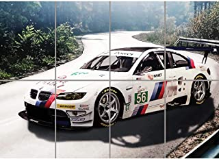BMW M3 E92 SPORTS RALLY CAR GIANT PICTURE ART PRINT POSTER MR387