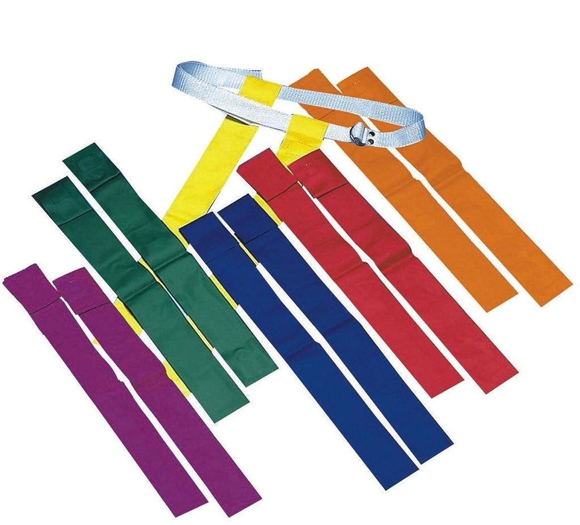 鬼ごっこうれしい位置づけるSpectrum Flag Footballセット( Set of 12?) -purple