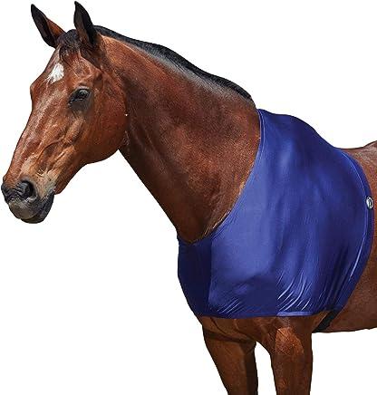 WEATHERBEETA Stretch Shoulder Guard Navy Full Horse Rug
