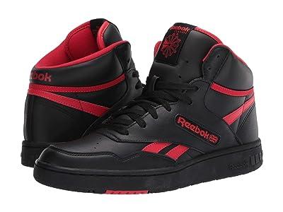 Reebok Lifestyle BB 4600 (Black/Primal Red/Black) Shoes