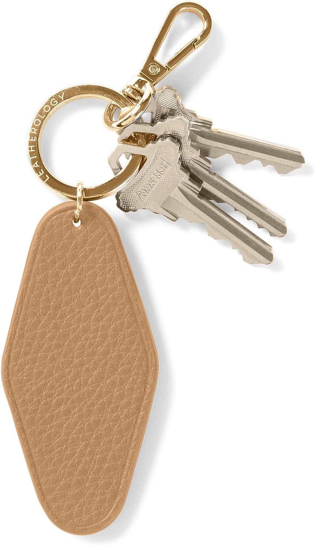 Leatherology Camel Hotel Keychain
