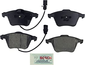 Bosch BE1111 Blue Disc Brake Pad Set for Audi: 2005-09 A4, 2005-11 A6, 2011-13 TT Quattro - FRONT
