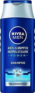 NIVEA Men Anti-roos Power Shampoo (250 ml), effectieve haarshampoo, verzorgende shampoo bevrijdt tot 100% van zichtbare roos.