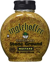 Inglehoffer Stone Ground Mustard, 10-Ounce Squeezable Bottle (Pack of 6)