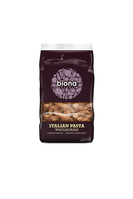 Limited price sale Biona Free shipping on posting reviews Organic - Italian 500g Pasta Wholegrain Fusilli