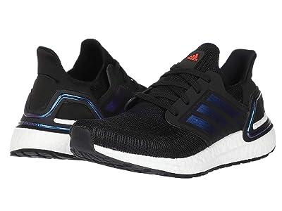 adidas Kids UltraBOOST 20 (Big Kid) (Black/Blue Metallic/White) Kid