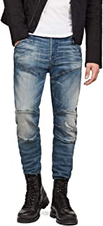 Men's 5620 3D Straight Tapered Jeans in Dark Aged Antic Restored