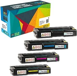 Do it Wiser Compatible Toner Cartridge Replacement for Ricoh Aficio SP C240SF C220S C220A C220DN C220N C221N C221SF C222DN C222SF   406046 406047 406048 406044 (4 Pack)