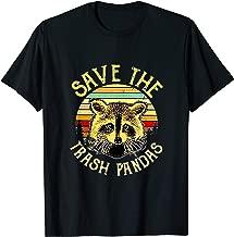 Save The Trash Pandas T Shirt Gift Idea T-Shirt