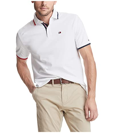 Tommy Hilfiger Kisner Classic Fit Polo (Bright White) Men